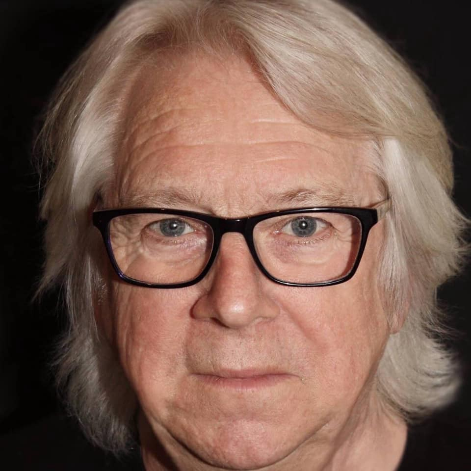 Head picture of the auther, producer and director Tony McHale