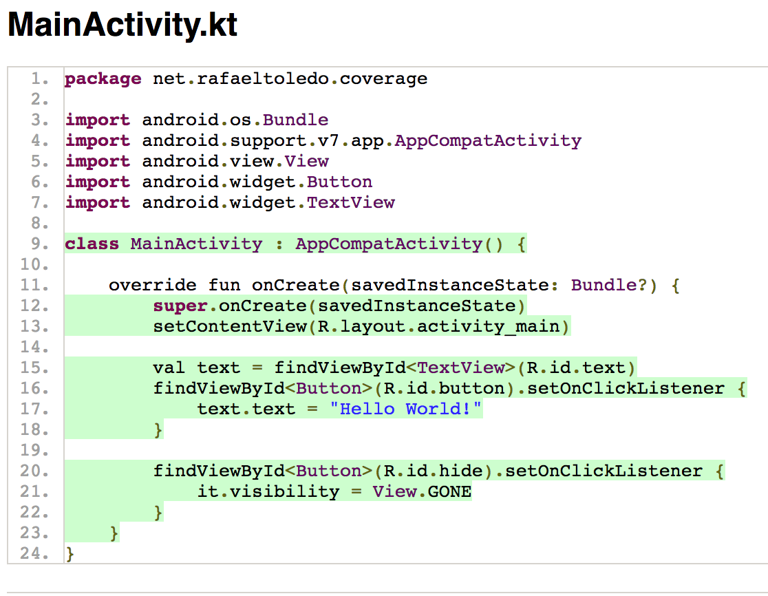 Unified Code Coverage for Android: Revisited - ProAndroidDev