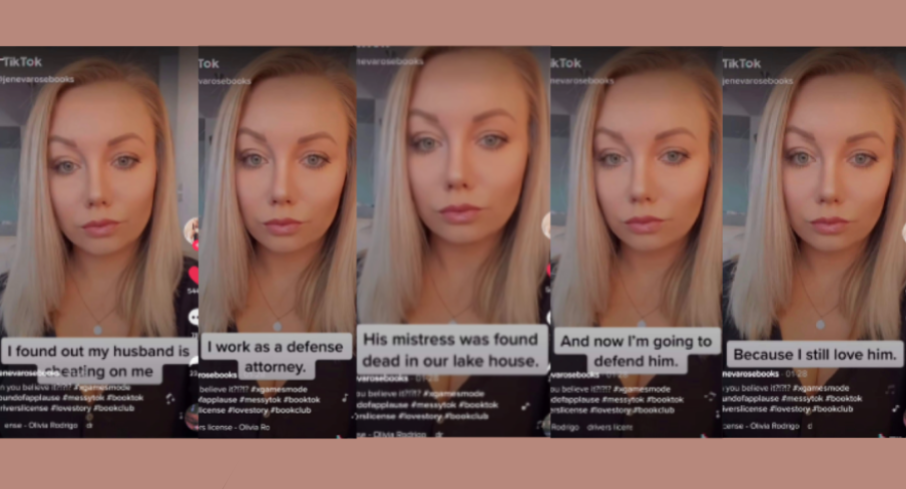 Cover image of multiple screenshots of the successful TikTok video.