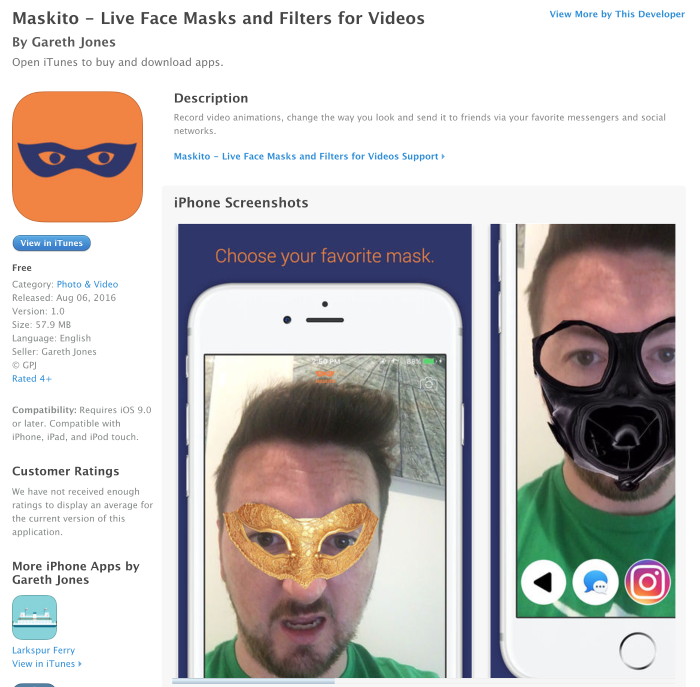 Story of Failure: Lessons Building a Face Filter App