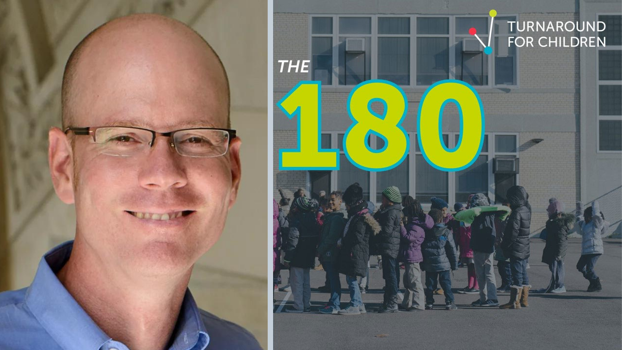 Turnaround for Children 180 podcast with Newsela Co-Founder and Chief Academic Officer Dan Cogan-Drew.