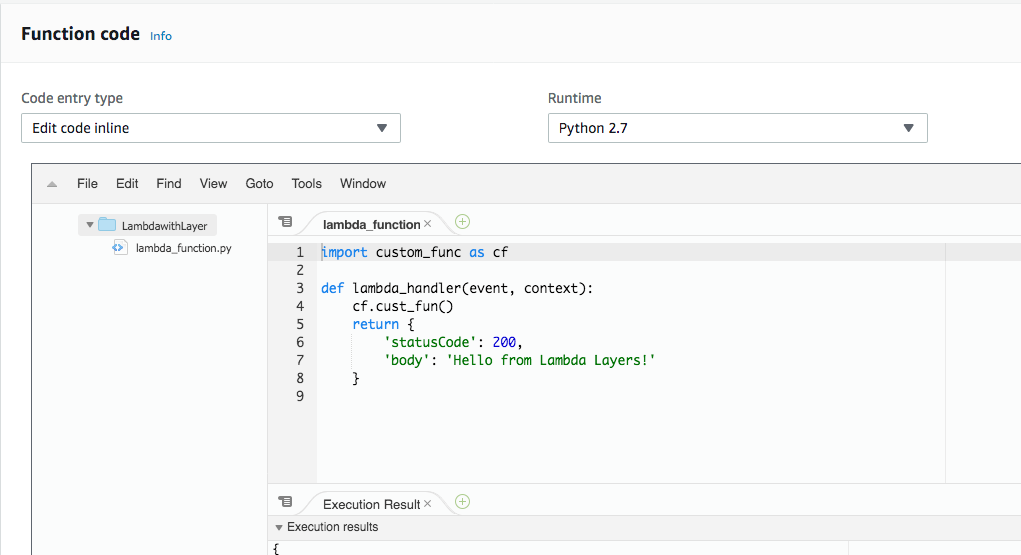 Getting started with AWS Lambda Layers for Python - Adrian Hornsby