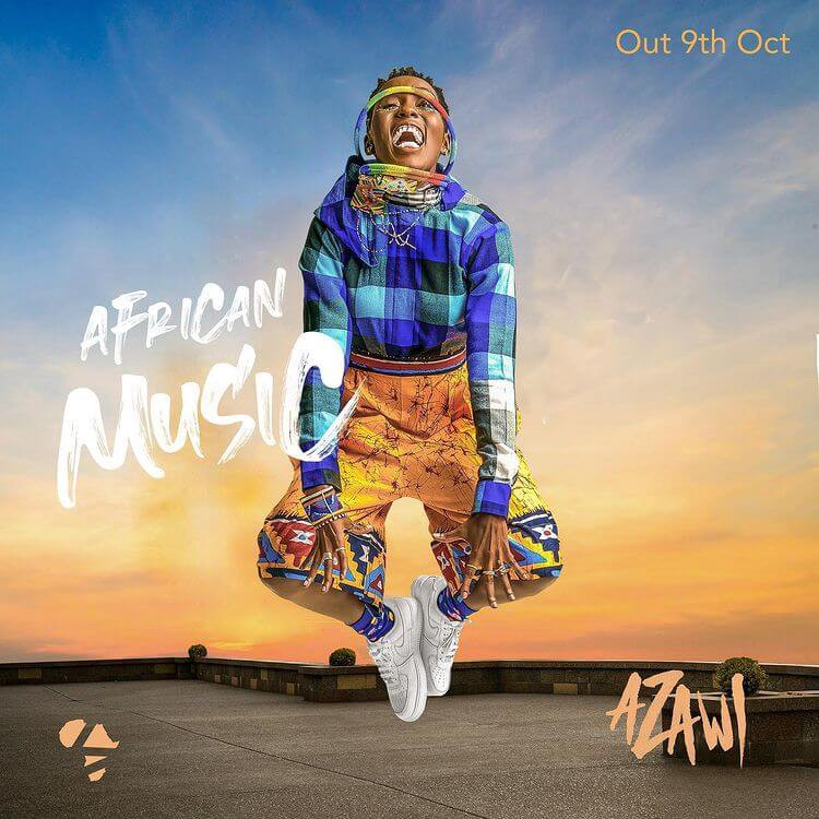 'African Music' is a new album by Singer Azawi