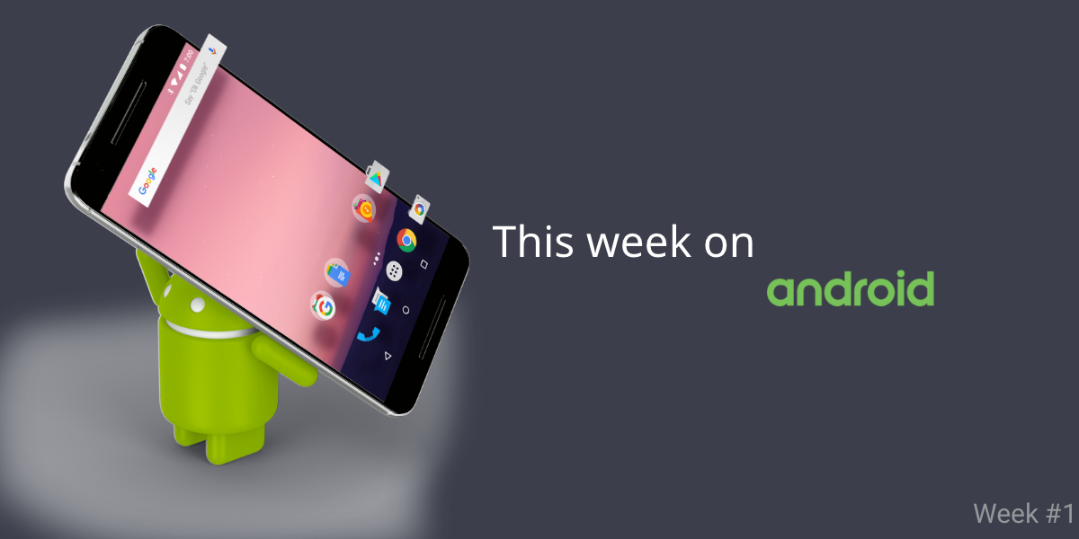 4 Android apps source code worth checking, week #1 - ATouchM - Medium