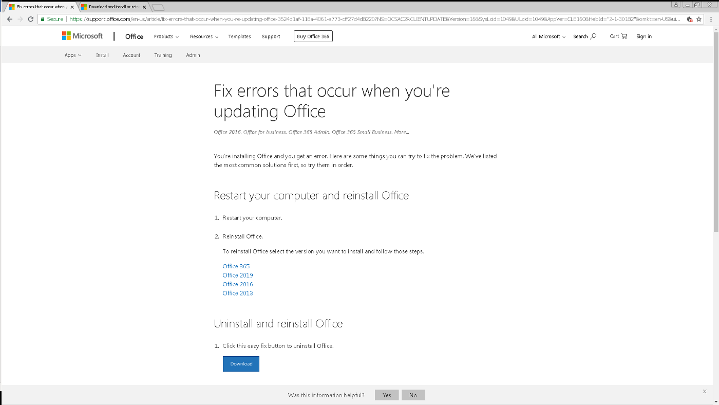Multilingual Office — Understanding Office 2019/2016 Language