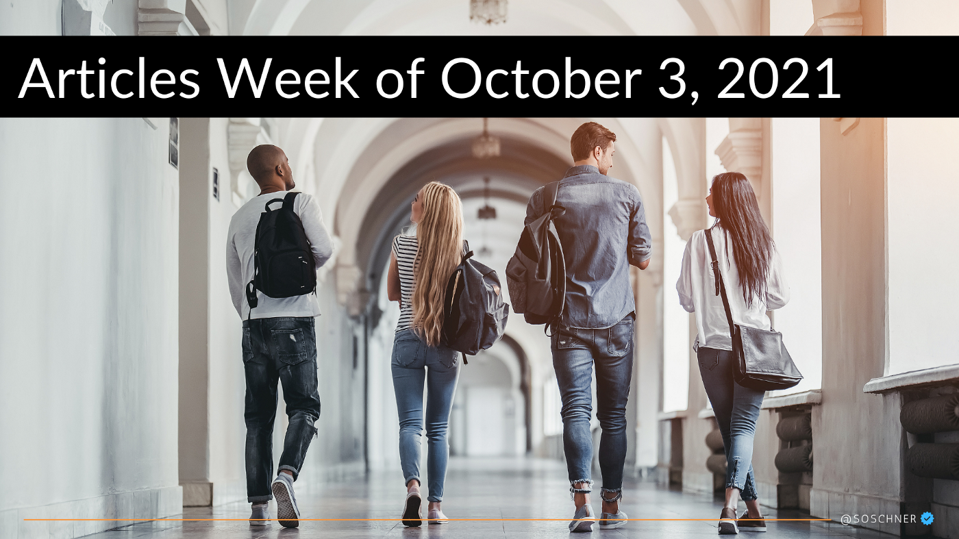 Weekly Review #9/2021 5 Market Insights for Investors and Entrepreneurs Rundown on Sunday, October 3