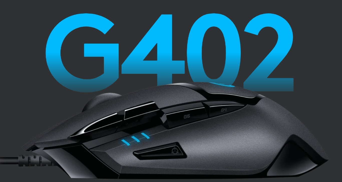 Logitech G402 Hyperion Fury productivity gaming mouse