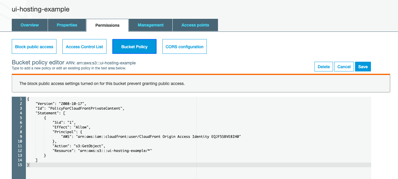 How to efficiently host/deploy Web ApplicationsUIon S20 Buckets ...