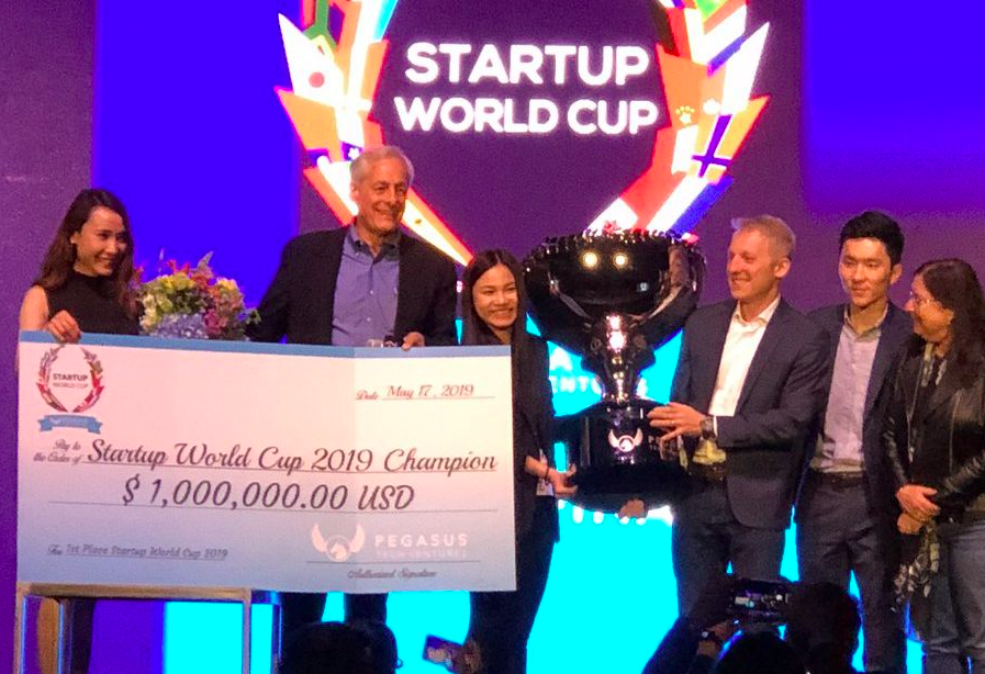 Vietnamese startup Abivin takes home grand prize at Startup World Cup 2019 in San Francisco, California