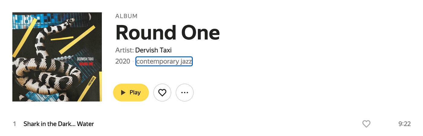 1.2. Focus on interactive elements—the [contemporary jazz] link has a default focus style
