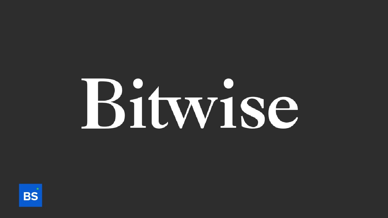 A photo of Bitwise's logo