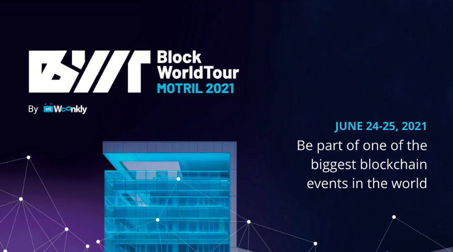 Woonkly will be the official sponsor of the Block World Tour 2021