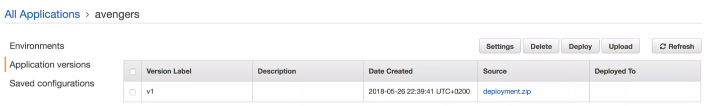 Deploy and monitor Docker containers using AWS Elastic Beanstalk in