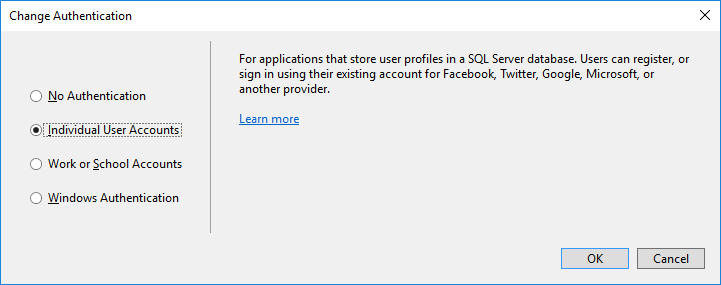 Changing the primary key type of ApplicationUser in ASP NET Identity