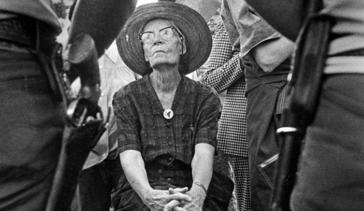 Catholic Worker founder Dorothy Day attended her last protest, in support of farm workers, at the age of 75.