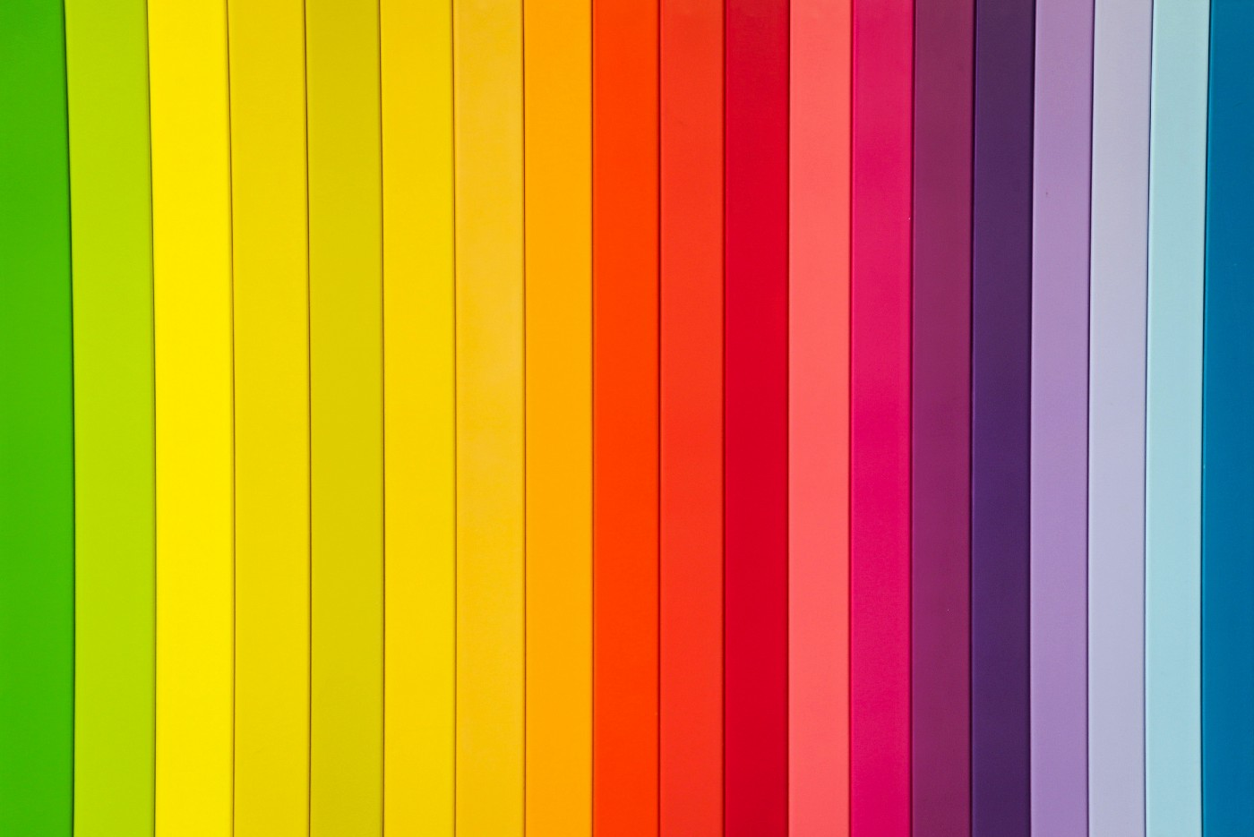 Strips of colour
