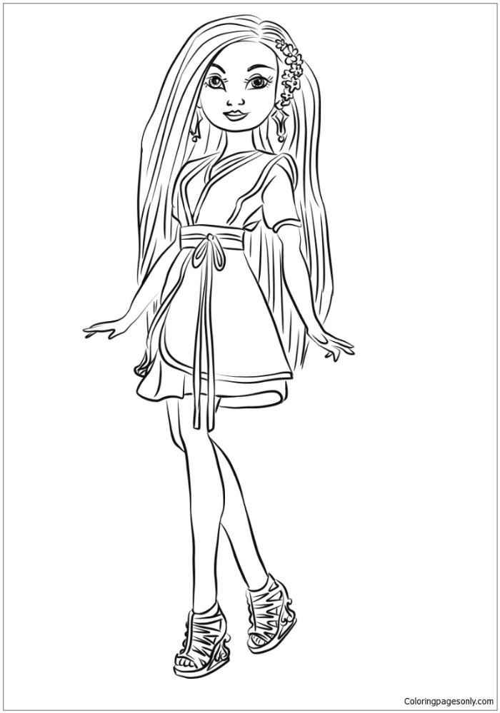 Why You Should Give Your Child Descendants Coloring Pages By Coloring Pages For Kids Medium