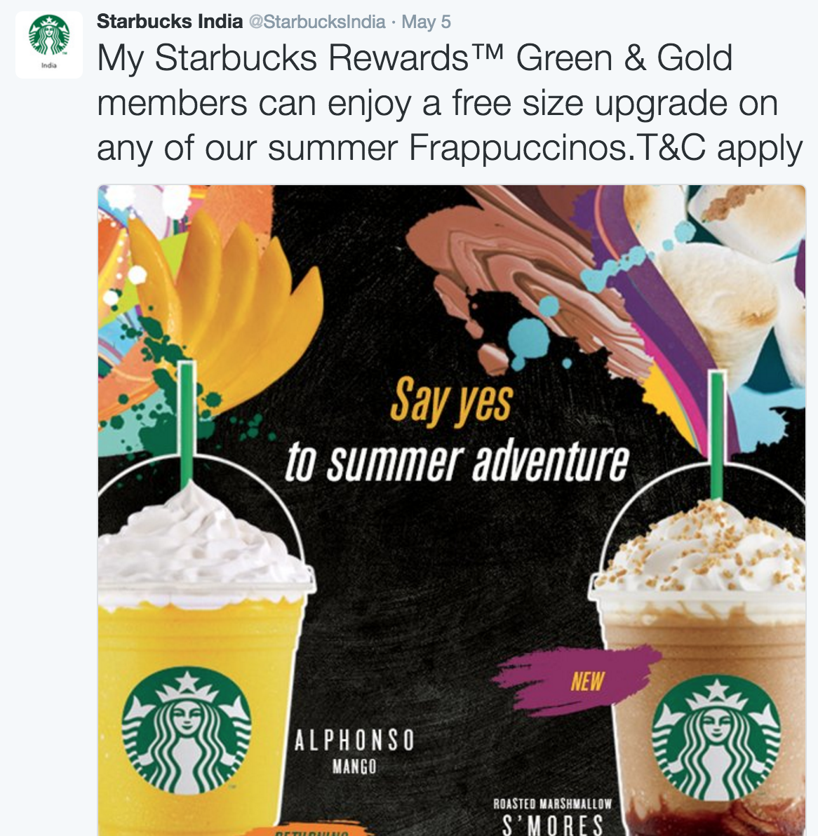 How Starbucks uses Omnichannel Marketing in India to Engage with