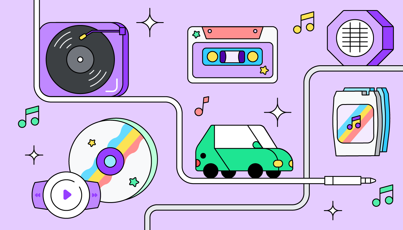 We're taking a drive down memory lane to look back at all the evolution of audio in the car.