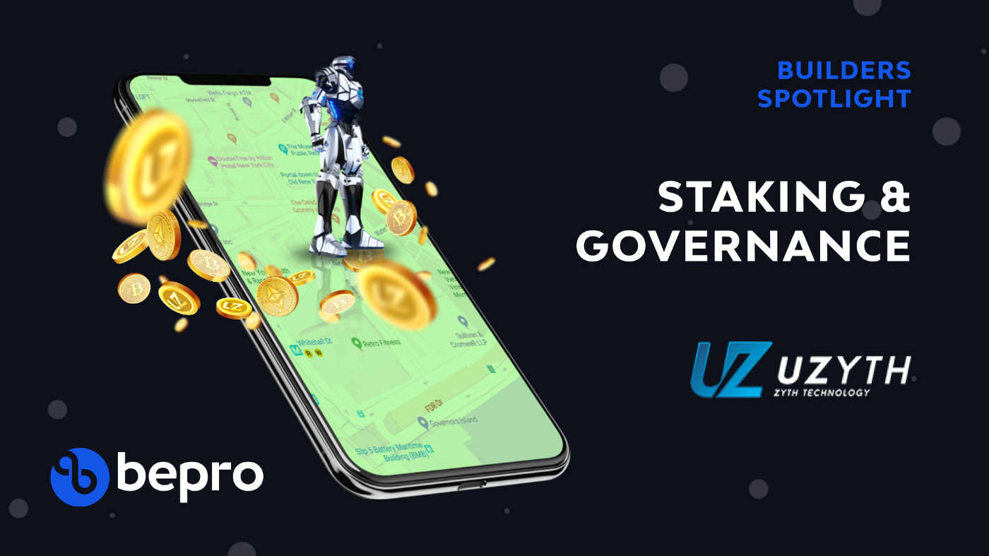 Builders Spotlight: Uzyth to integrate Staking & Governance features