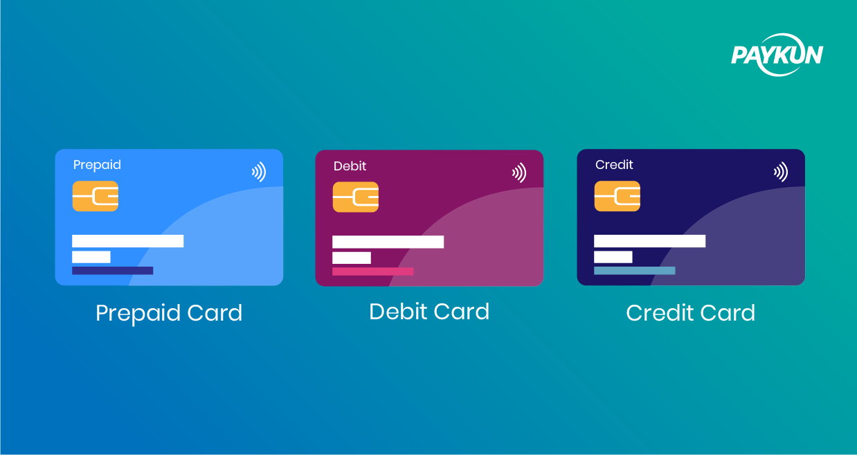 Difference between Credit Card, Debit Card and Prepaid Card by