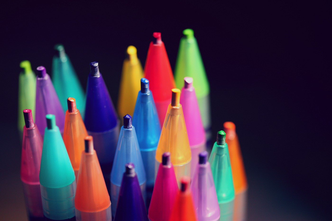 Many colored pencils. Photo: Sharon McCutcheon