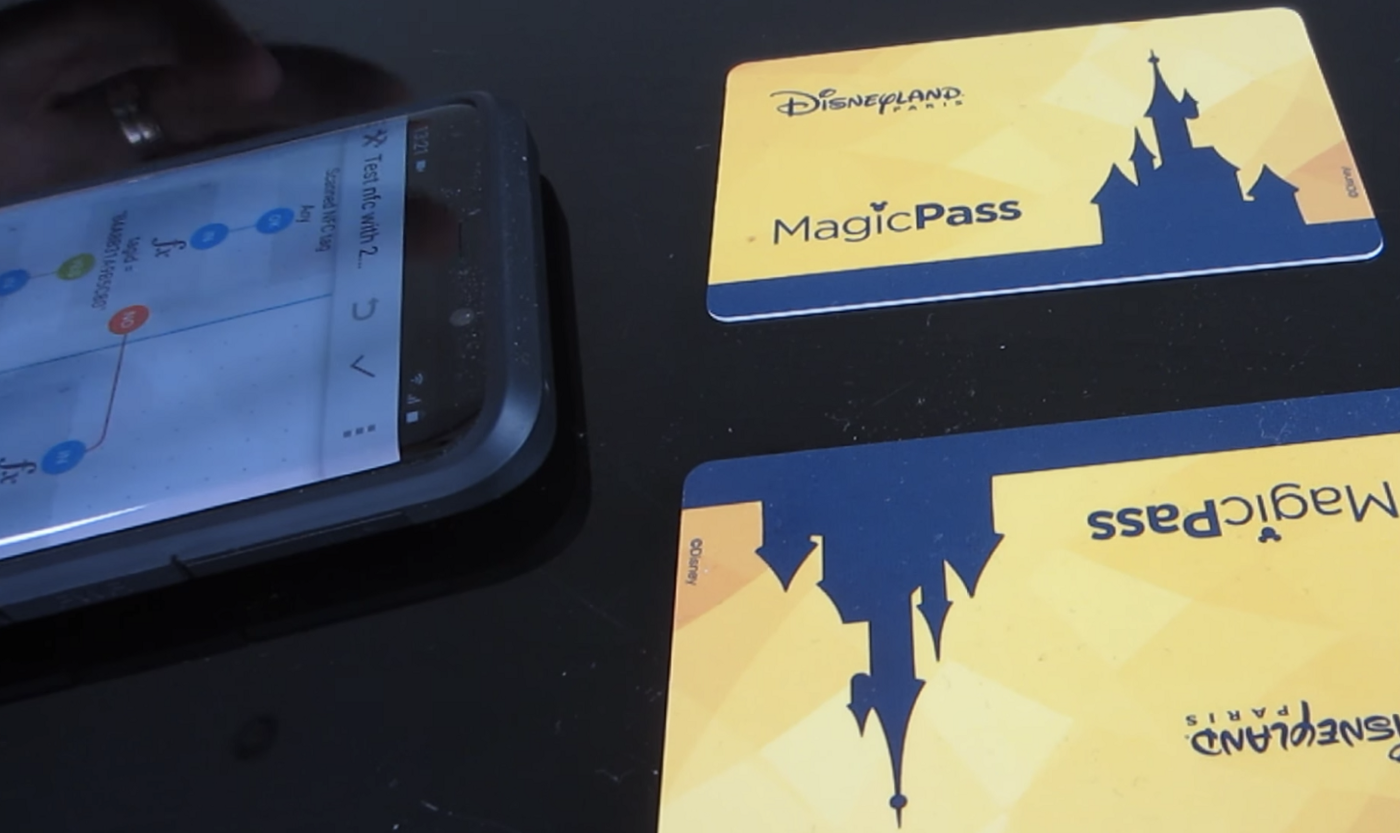 Upcycle Those Old Disney Park Tickets as Smartphone NFC Task Triggers