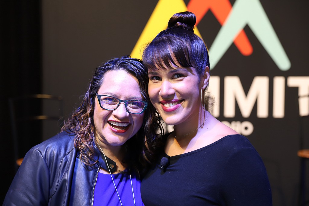 Karla and Mimi and Code2040's 2018 Summit