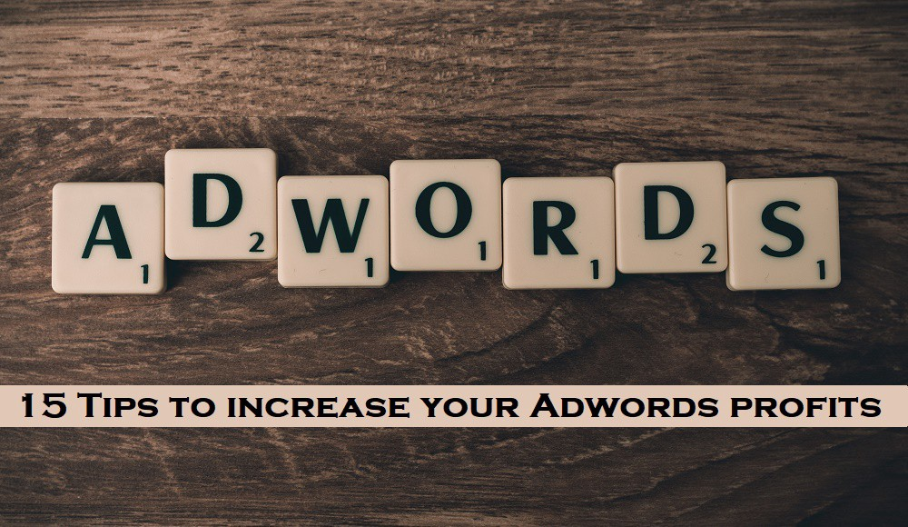 15 Tips to increase your Adwords profits.