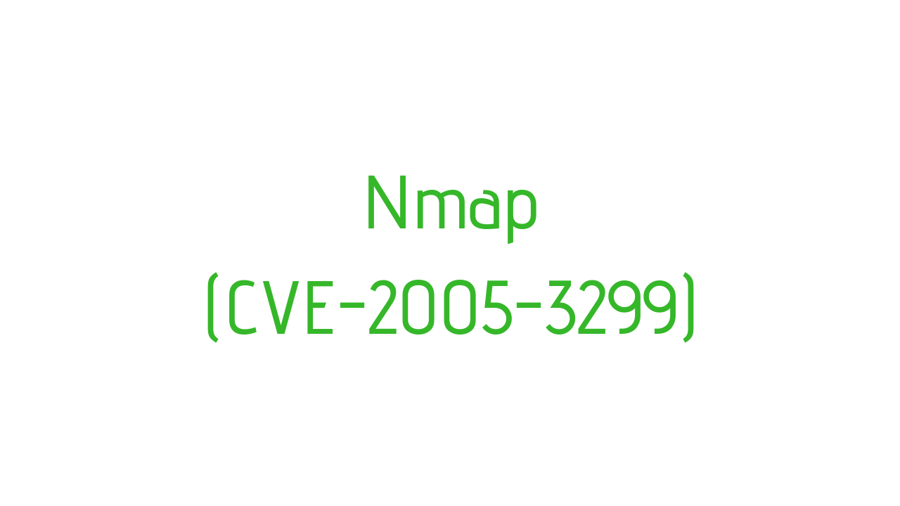Find path traversal (CVE-2005–3299) with Nmap - InfoSec Write-ups