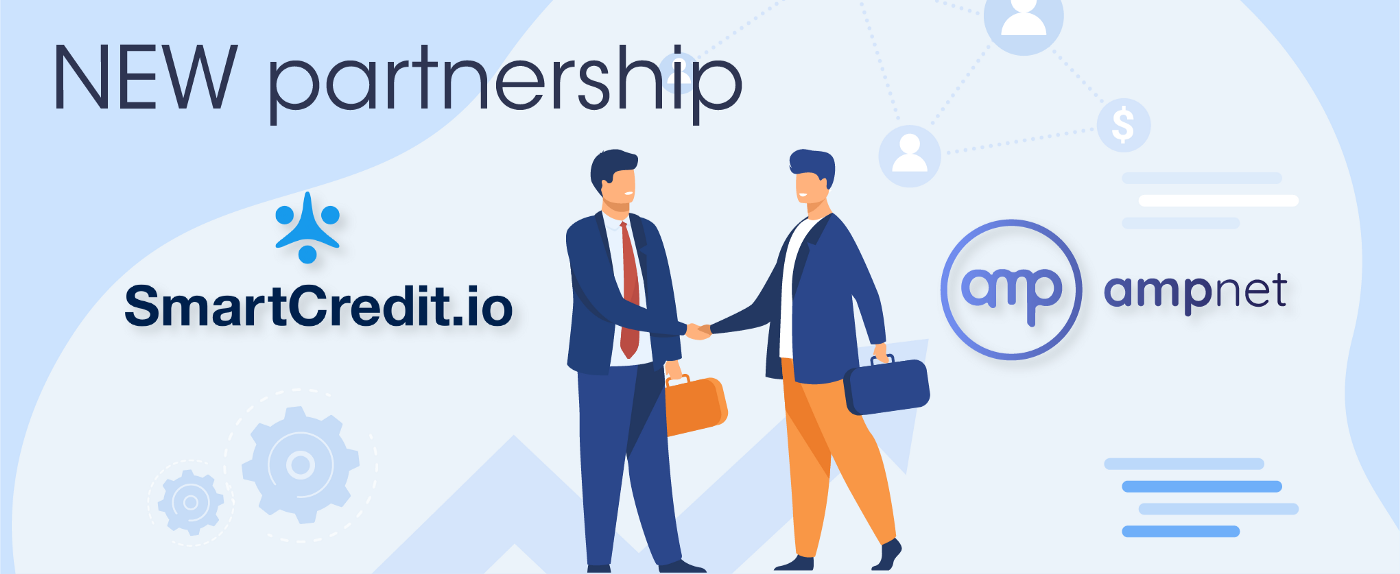 Partnership SmartCredit.io & AmpNet