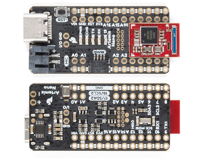 """Say """"Hello"""" to the SparkFun Artemis - Hackster Blog"""