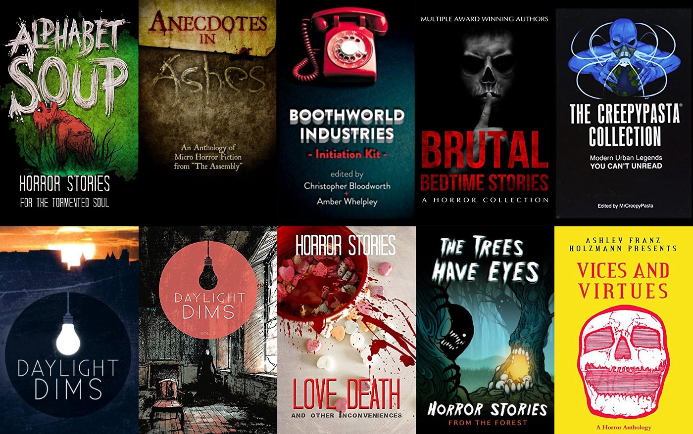 10 horror anthologies that will scare you sleepless