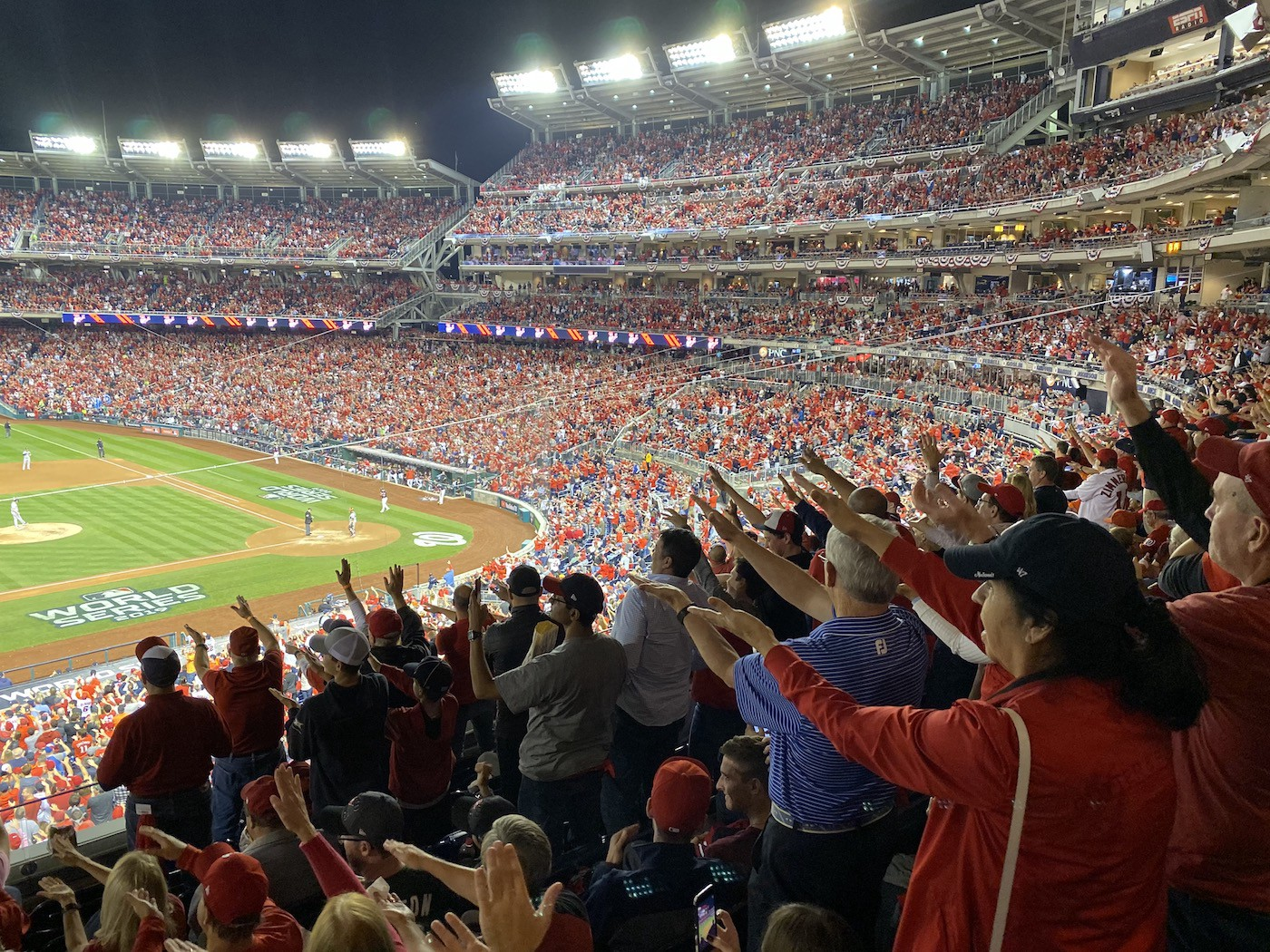World Series Game at Nationals Park