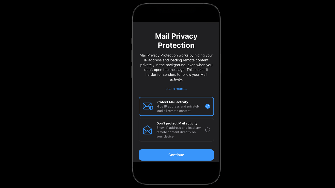 Mail Privacy protection in iOS 15 and macOS hides your email activity from newsletter