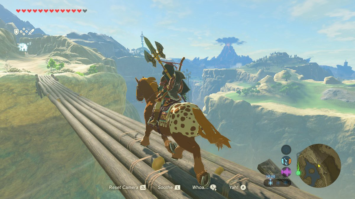 The Space Between Spaces: Breath of the Wild and Shadow of the Colossus