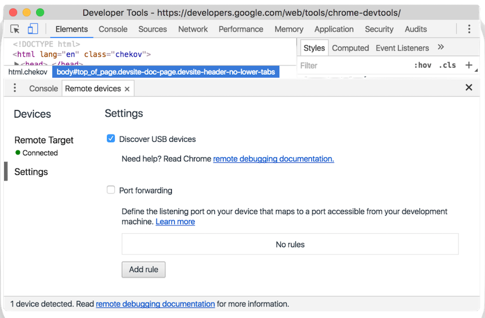 How to Debug your website in Android Chrome - Swift Dynamics - Medium