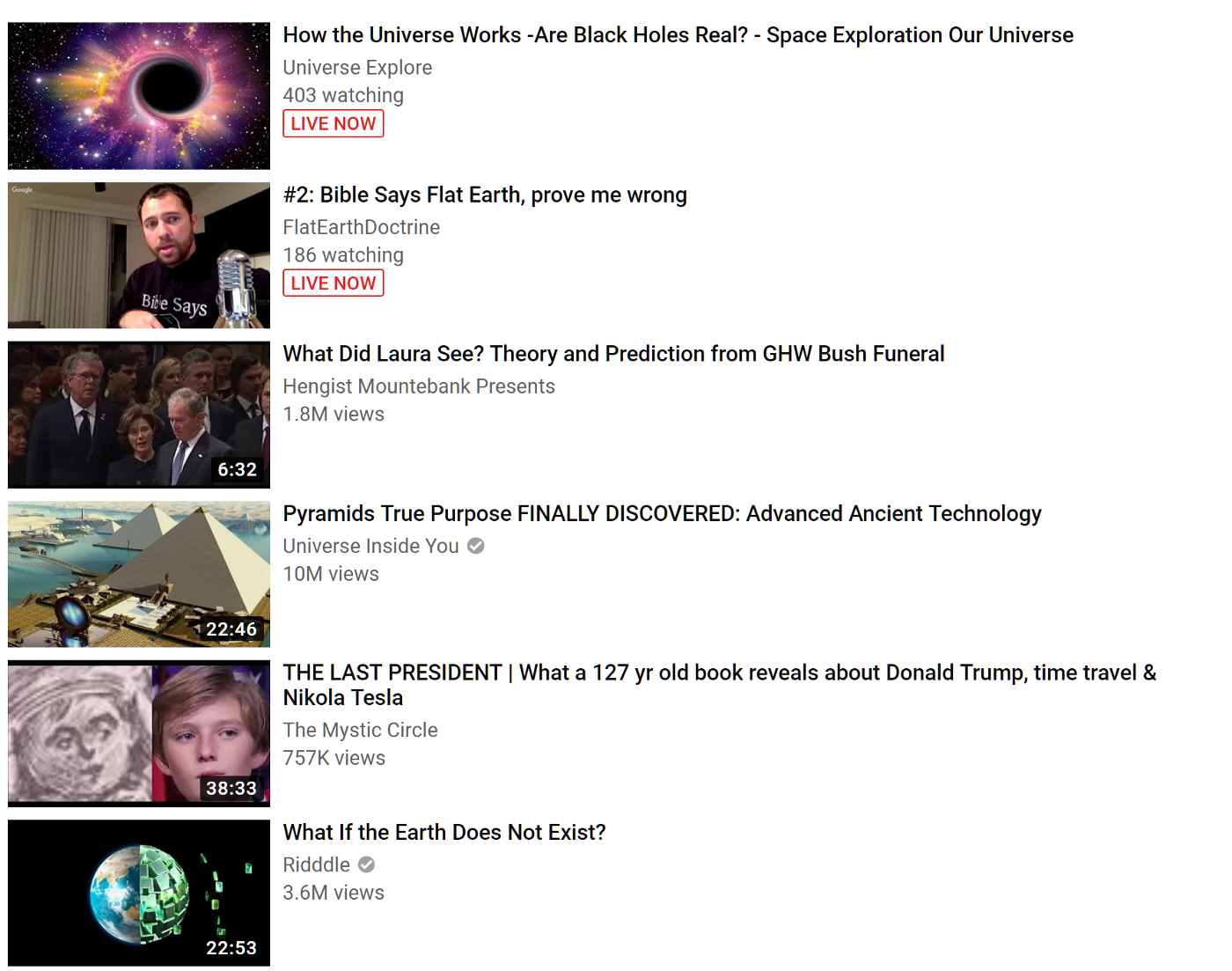 Like Cat Videos? YouTube Recommends: Ultraviolence