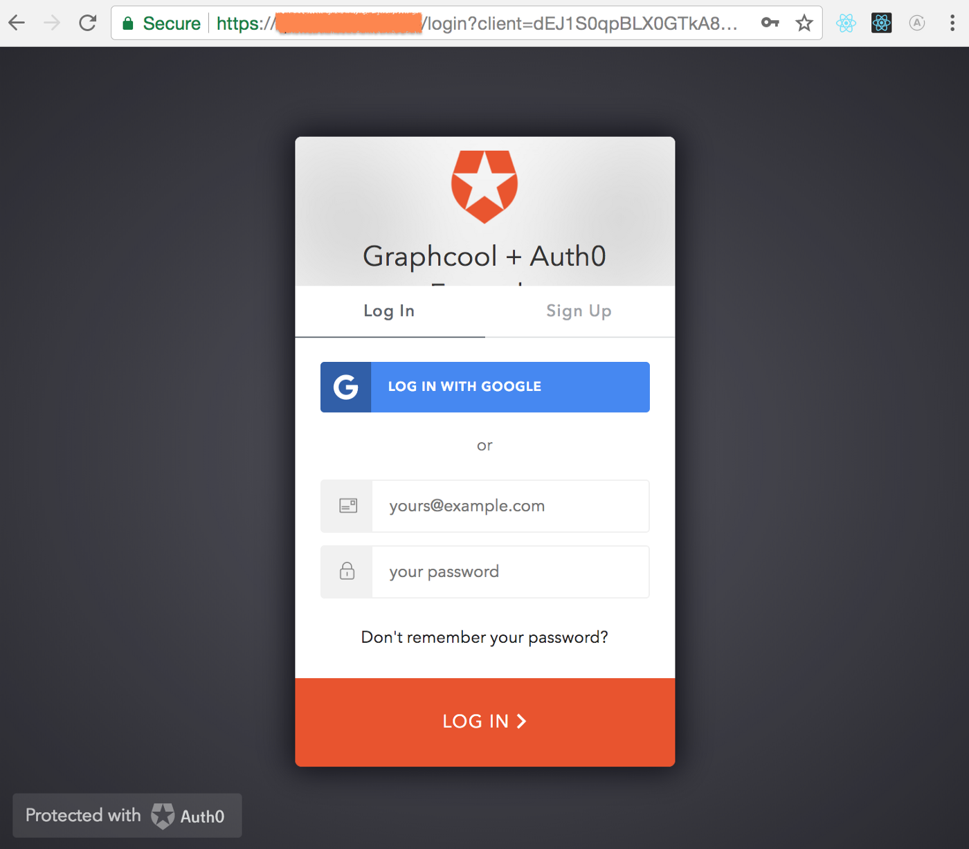 Authentication Inside a Graphcool Service Using Auth0