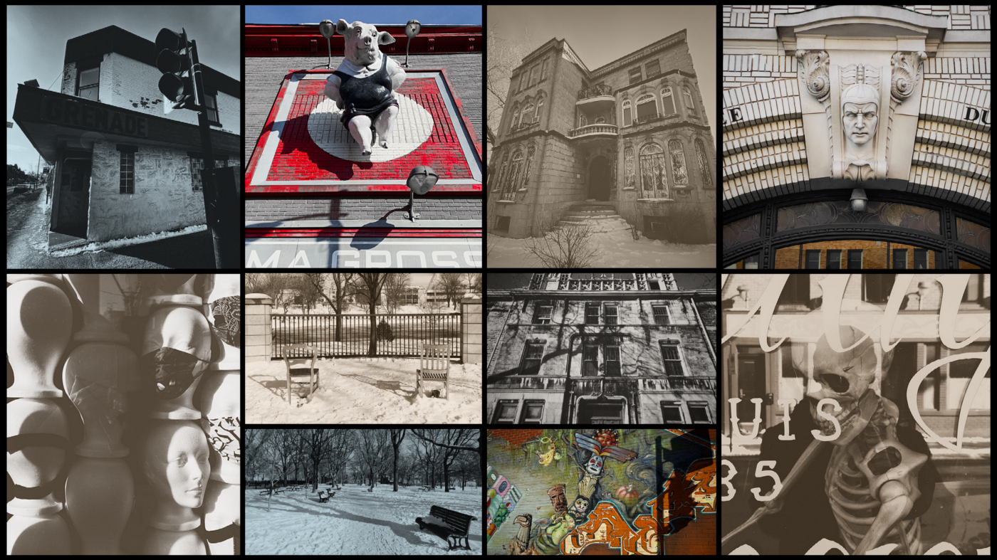 Visual summary of my 90 min Photowalk