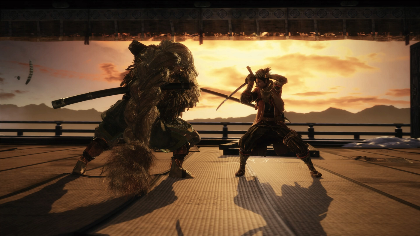 """Scenes from the video game """"Sekiro: Shadows Die Twice"""""""