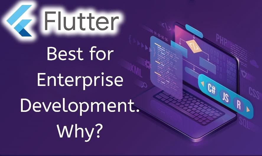 Why Flutter Is The Best Choice For Enterprise Development—Latitude Technolabs