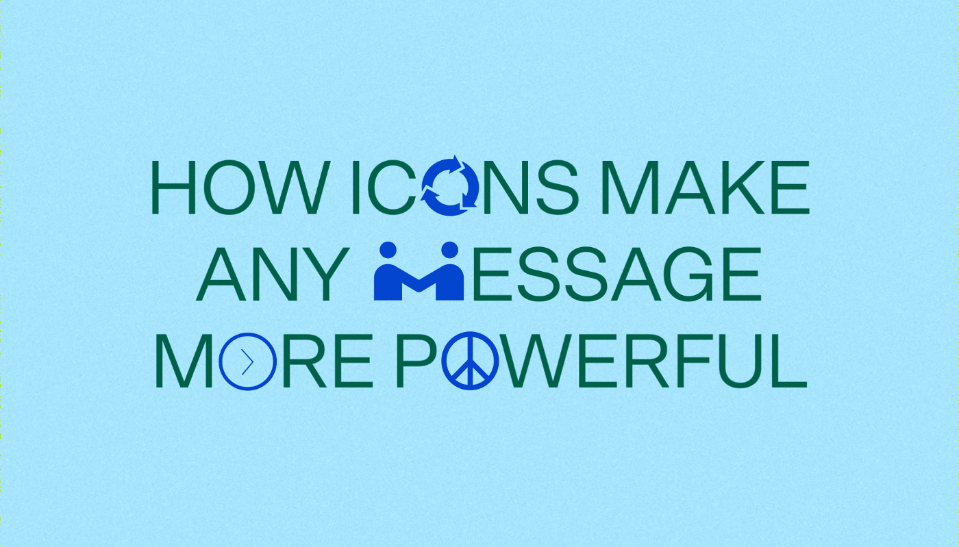How to use iconography to make any message more powerful