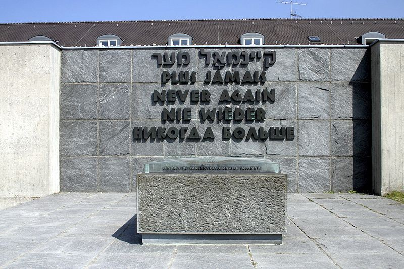 A Memorial at the Dachau Concentration Camp