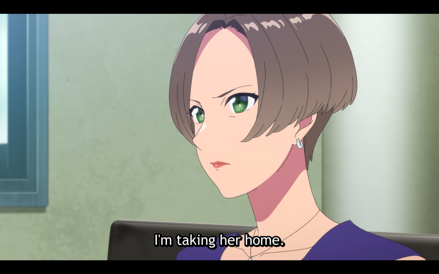 Fuuka's mother states her intent to bring Fuuka back home.