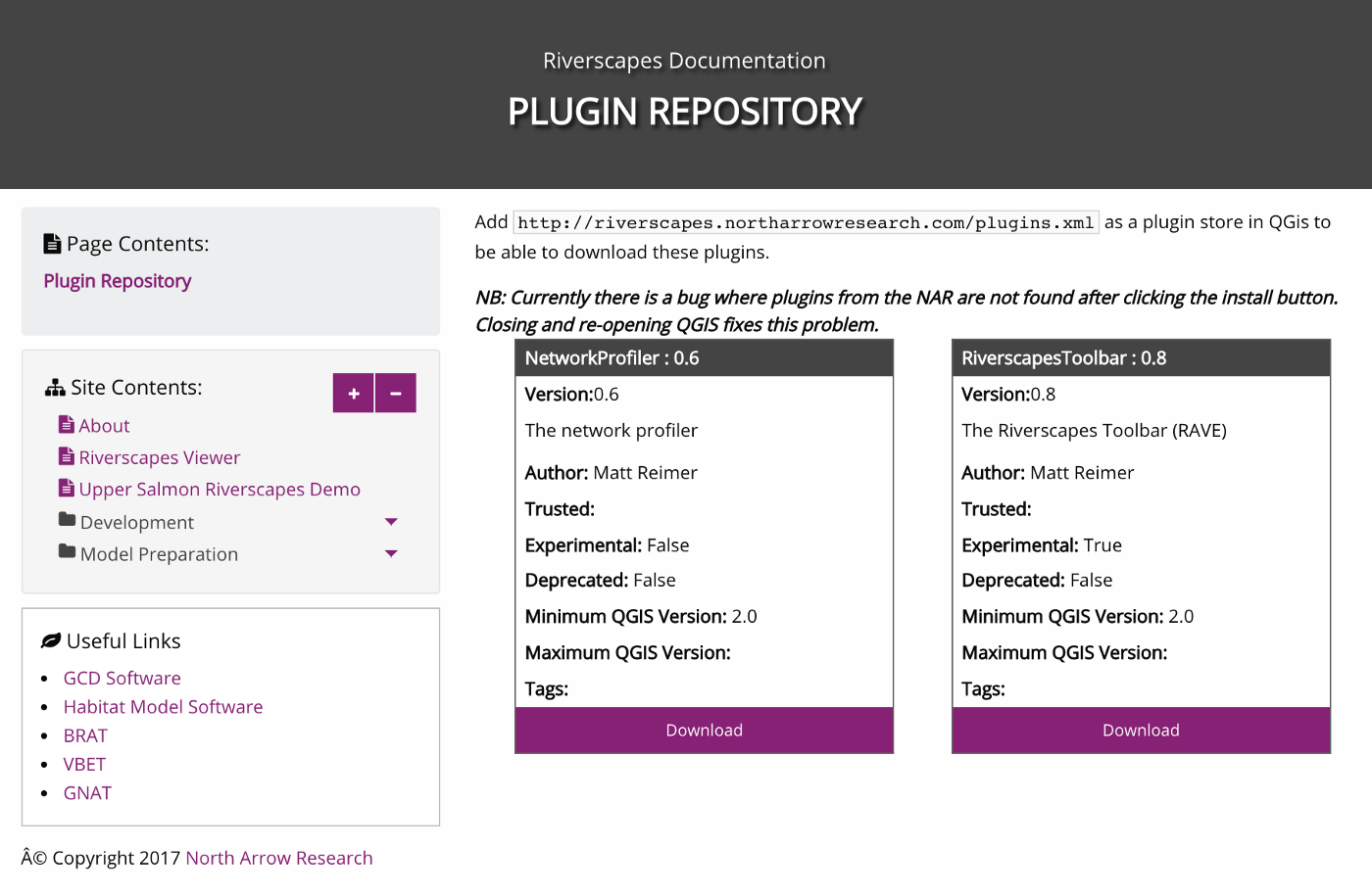Creating your own QGIS plugin store - North Arrow Research - Medium
