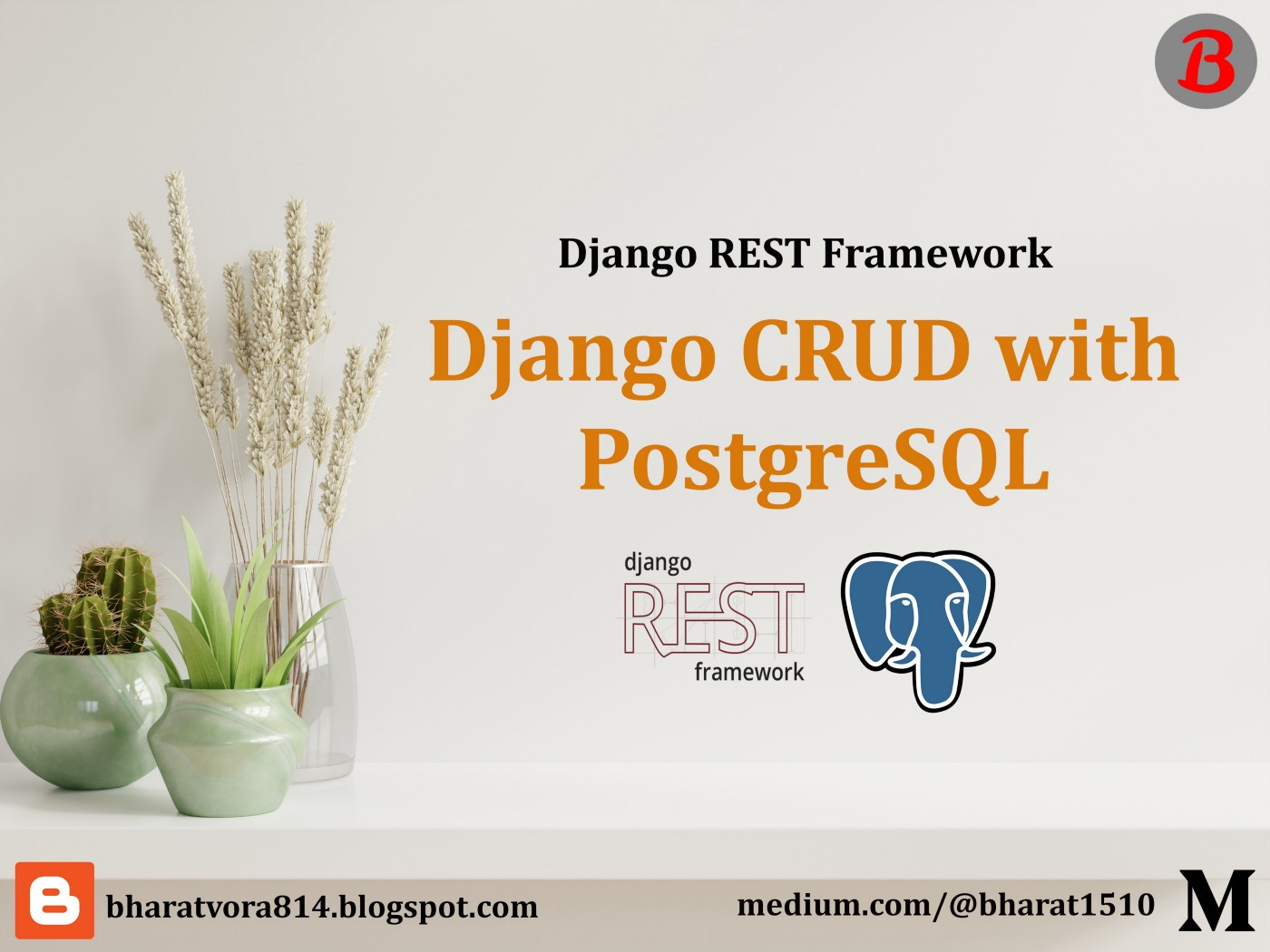 Django CRUD API with PostgreSQL