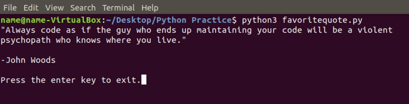 Ch 1 — Intro to Python: Writing Your First Program - Code Like A Girl