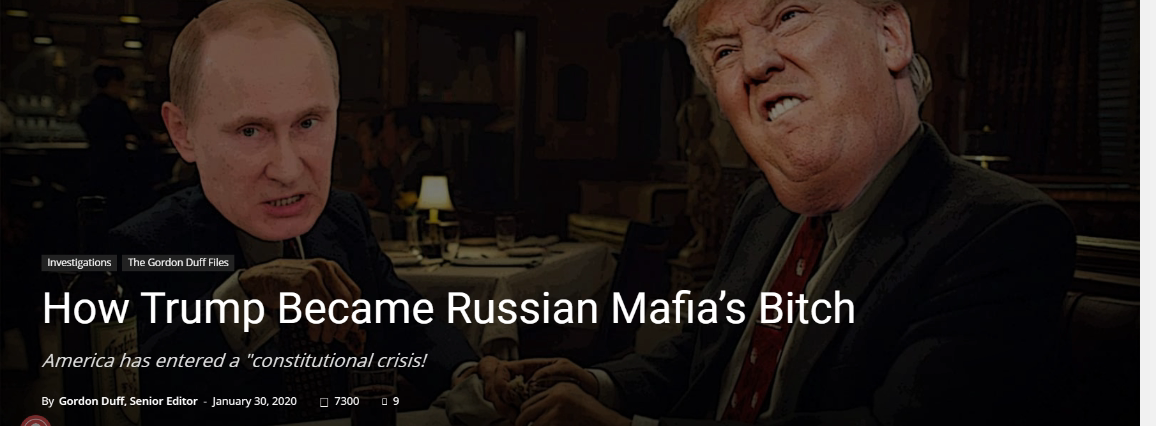 Trump and Putin at a meal