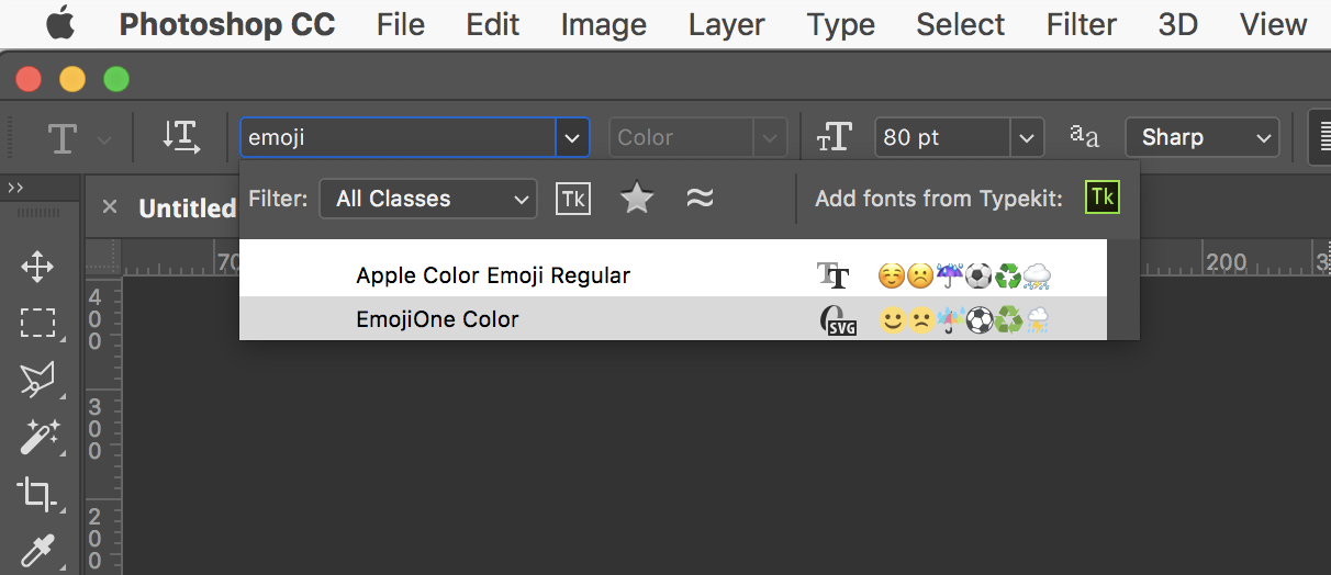 How to insert Emoji into Illustrator — the easy way